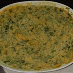 Asparagus Collards Rice Casserole with Tofu Cream Sauce
