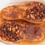 Butternut Squash Stuffed, Apples, Raisins, Walnuts