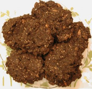 Cookies - Banana Carob Coconut Raisin Almond