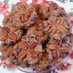 Banana Coconut Raisin Oatmeal Spice Cookies with Pecans