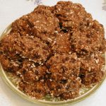 Banana Oatmeal Raisin Sunflower Seed Spice Cookies