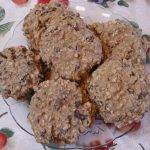 Banana Date Raisin Oatmeal Cookies