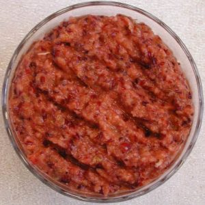 Cranberry Orange Date Relish