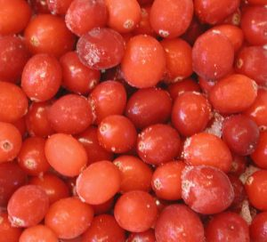 Cranberries (Vaccinium macrocarpon)