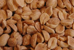 Peanuts, Shelled, Dry Roasted, No Oil, No Salt