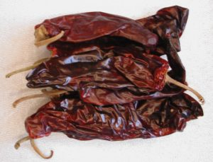 Peppers, Guajillo Chile, Dried