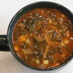 Collard Greens Vegetable Soup (Italian Style)