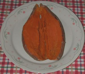 Baked Yams or Sweet Potatoes