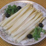 White Asparagus Steamed