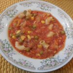 Cabbage Soup Chick Pea Elbows