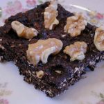 Banana Carob Coconut Raisin Oatmeal Cookie Bars