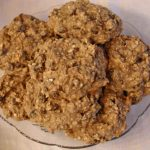 Banana Raisin Oatmeal Cookies
