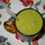 Collard Greens Pineapple Banana Green Smoothie