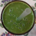 Pineapple Kale Green Smoothie