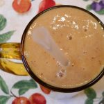 Banana Cantaloupe Collard Greens Nectarine Smoothie