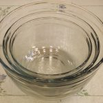 Bowls, Glass Baking, Mixing, and Serving