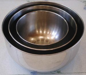 Bowls, Stainless Steel Mixing