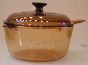 Covered Glass Cooking Pot