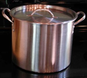 Pot, Large Stainless Steel