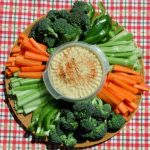 Hummus Dip Vegetable Platter